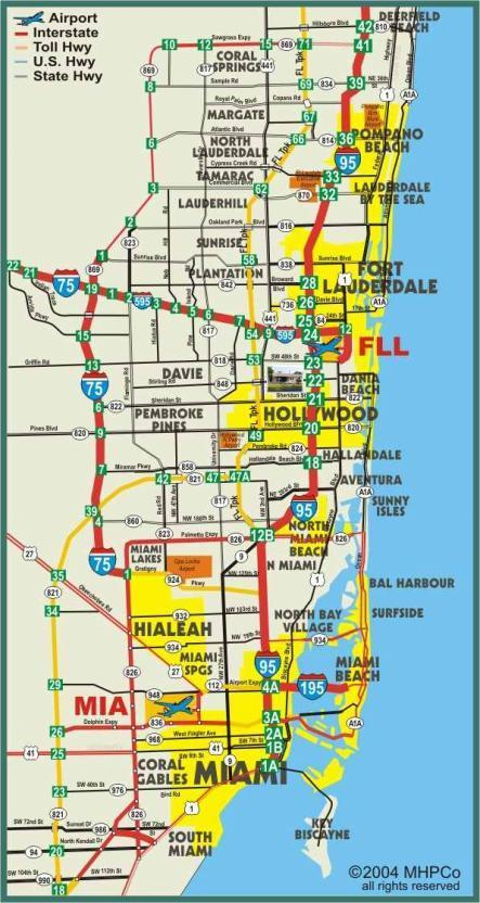 Fort Lauderdale On Map Of Florida.26 New Ft Lauderdale Map Florida Bnhspine Com